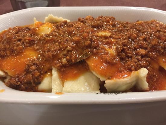 La cantina de Bruno: Ravioles de ricota con salsa bognesa