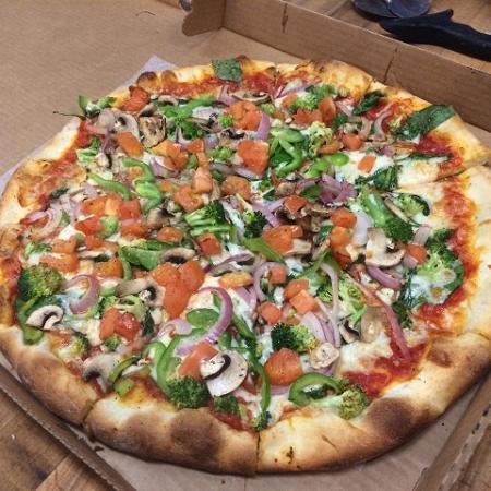 Mimmo's Pizzeria & Restaurant : Veggie House pizza