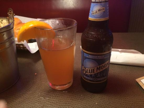 Blue Moon With Subtle Slice Of Orange Picture Of Logan S