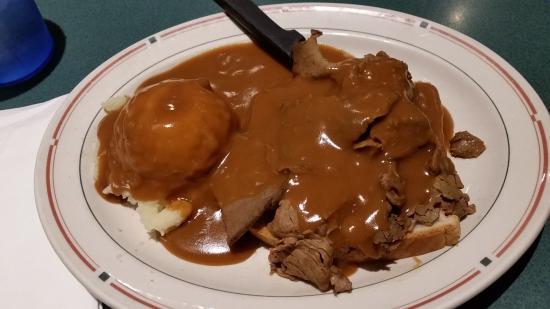 Mendota, IL: Roast Beef Manhatten