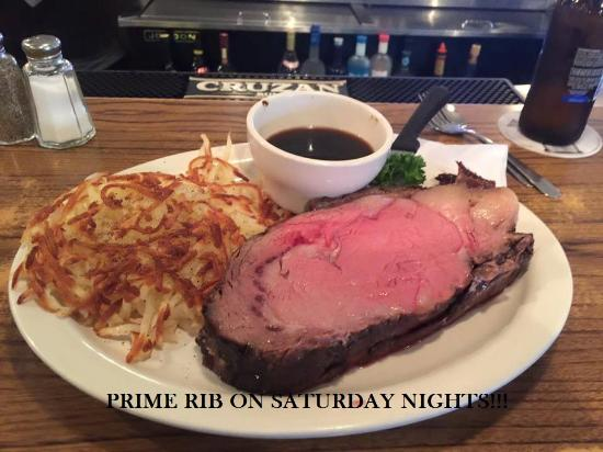 Hampton, มินนิโซตา: Prime Rib on Saturdays!!!!