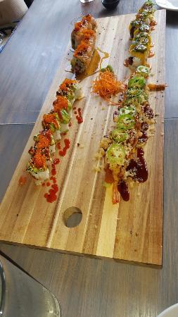 Inside Sushi House!!!
