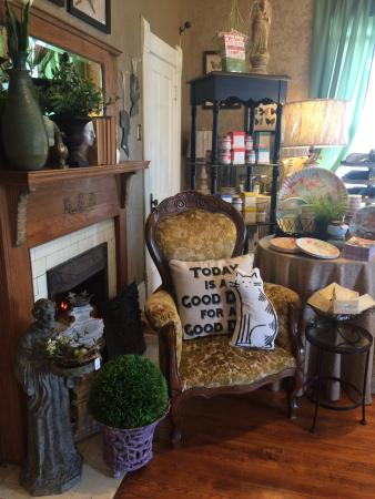 Hico, تكساس: Inside the shop