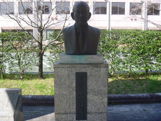Morio Takahashi Bust Statue
