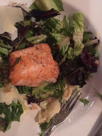 Olema Farm House: Chickory salad with side of Salmon