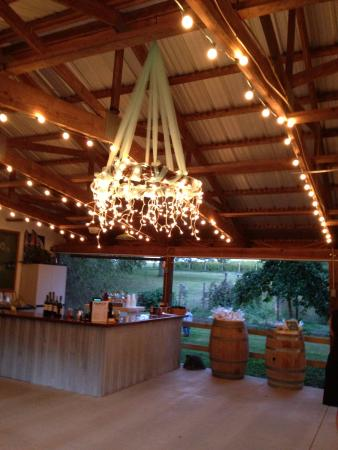 Potosi, MO: Wine tasting room