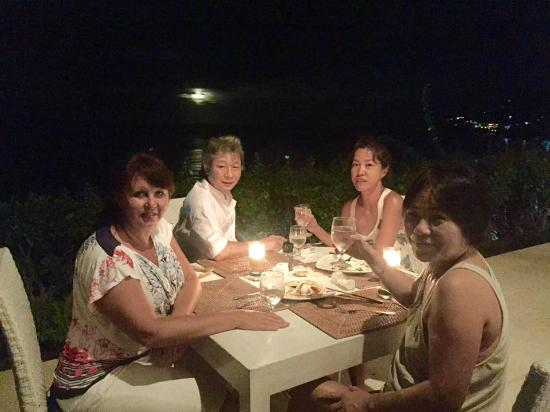 The Dining Awesome Atmosphere At Sail Restro Amed Beach Picture Of