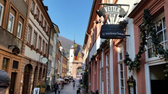 Entrance - Picture of Vetter's Alt Heidelberger Brauhaus, Heidelberg - TripAdvisor