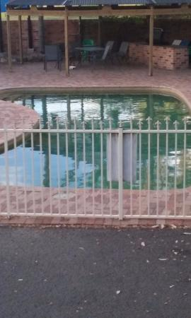 Comfort Inn Fairways: One of the pools.