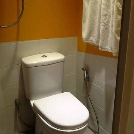 The shower is over the toilet - Picture of Hotel Snow, Singapore ...