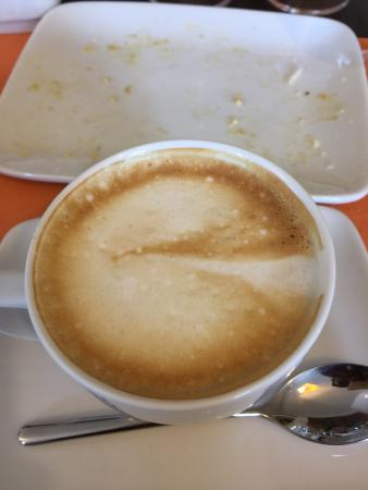 breakfast garden cappuccino wow amassing place picture of rh tripadvisor com