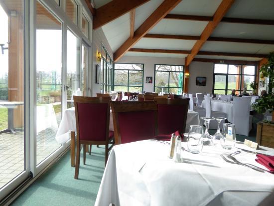 Salle du restaurant picture of les terrasses de forges for S bains restaurant