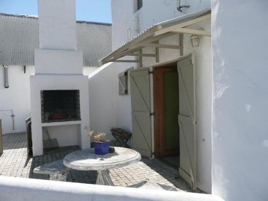 stay at emily bokkoms in paternoster stay at emily downstairs apartment patio and outdoor - Apartment Patio