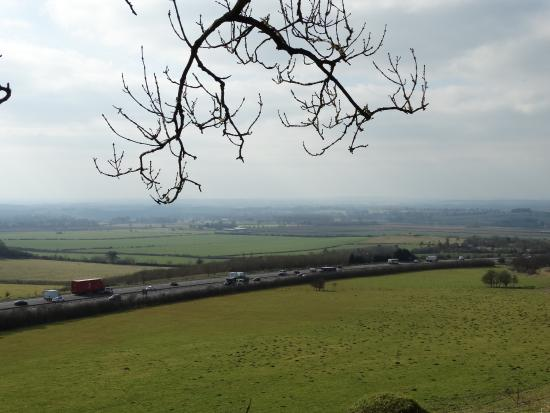 Aston Rowant, UK: M40 view