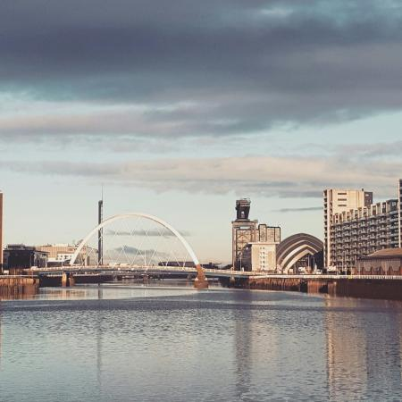 Glasgow, UK: Clyde Arc Bridge