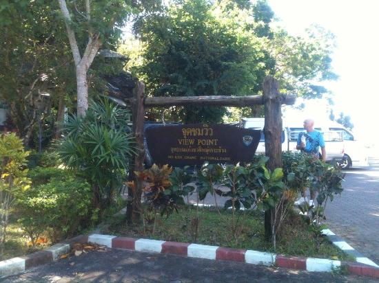 uitzicht - Picture of Mu Ko Chang National Park View Point ...