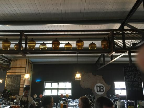 Darling Brewery: Darling in Easter Saturday. Busy, busy, busy.