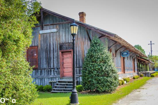 Cope Depot Historical Landmark