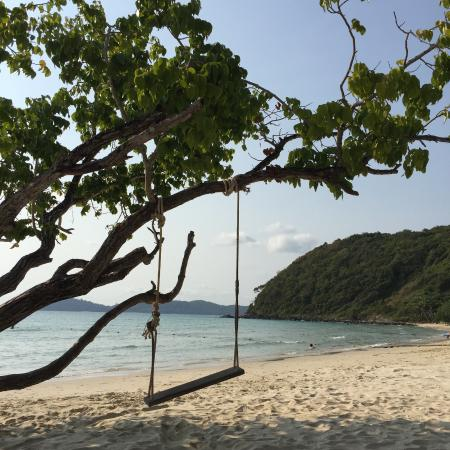 Swing into heaven - Picture of Le Vimarn Cottages & Spa, Ko Samet ...