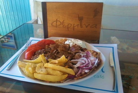 Fermina restaurant 4, Merichas Kithnos