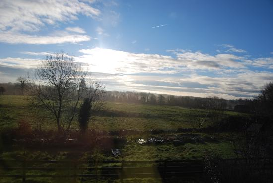 Ardrahan, Ireland: Mornnig view from main bedroom