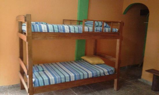 La Guayra, Panama/Panamá: Habitaciones para grupos de 5 a 6 personas