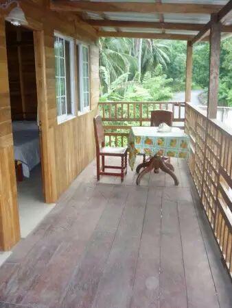 La Guayra, Panama: Habitación planta alta
