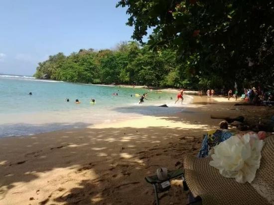 La Guayra, Panama: Sección de playa