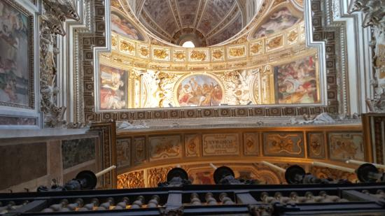 Particolare della cupola della cappella sistina picture for Decorazione quattrocentesca della cappella sistina