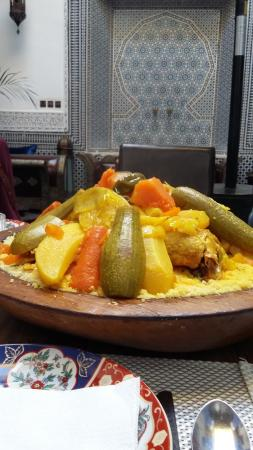 ‪‪Riad d'Or‬: couscous‬
