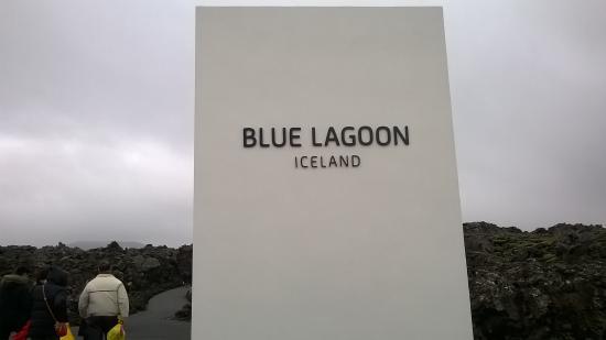 Grindavik, Islandia: Sign of the Blue Laggon