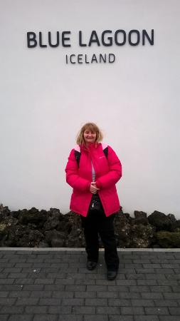 Grindavik, Islandia: Just arriving at the Blue Laggon