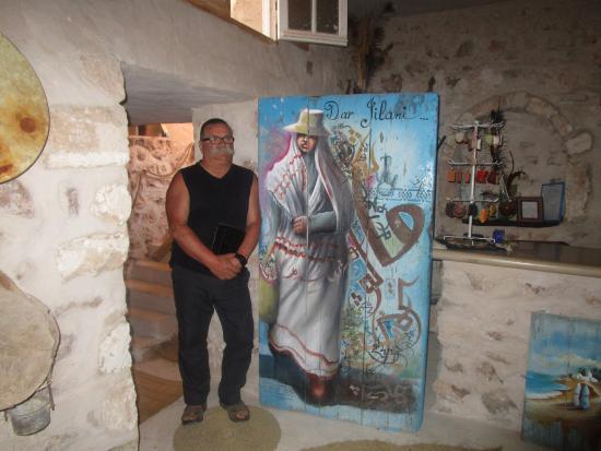 Dar Jilani La maison des Arts & Métiers: oeuvre sur une porte