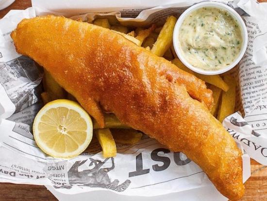 Katy's Korner : Fish and Chips