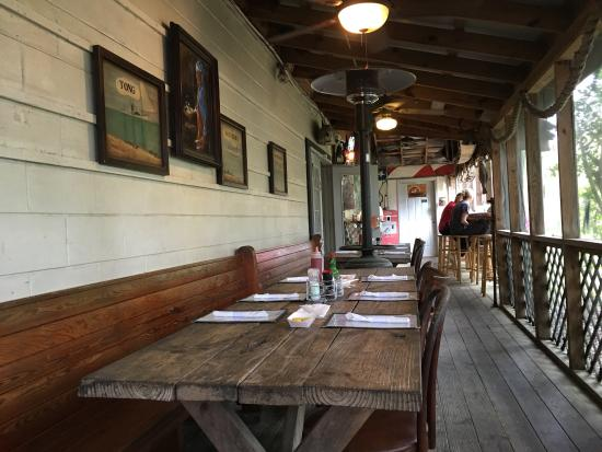 T.W. Graham & Company Seafood Restaurant: Good food in a rustic atmosphere!