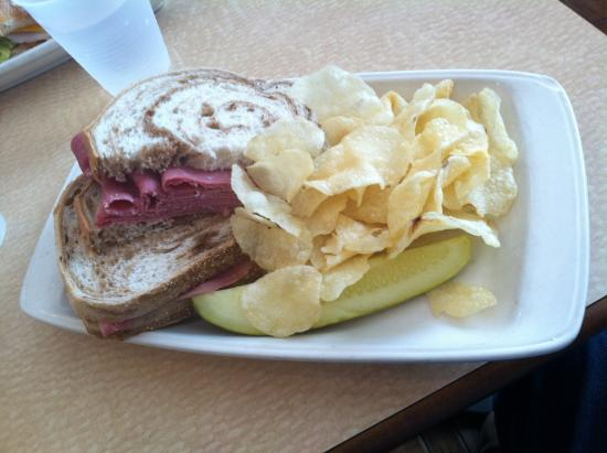 Boiling Springs, Pensilvania: Corned Beef with Chips