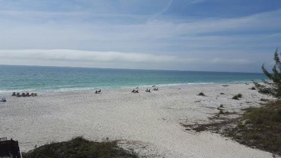 Anna Maria Island Dream Inn: View from our room. (204)