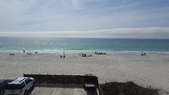 Anna Maria Island Dream Inn: View from our room. (204)