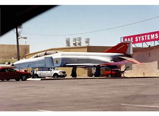 Mojave, Kalifornia: QF-4 drone
