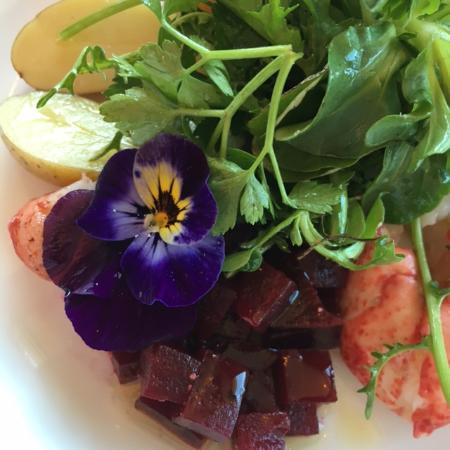 Clayton, MO: lobster salad!