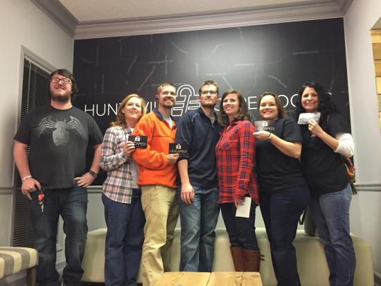 Huntsville, AL: We Escaped!