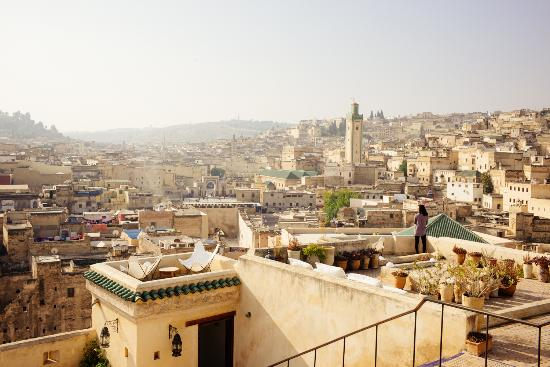 Dar Seffarine: Gorgeous views from the roof!
