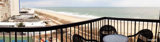 Sea Watch Condominium: Unit 802, view from balcony