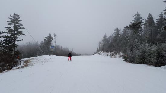 Jackson Gore Ski Area: Top of Jackson Gore, March 24, 2016