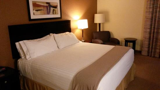 Holiday Inn Express and Suites Fort Lauderdale Executive Airport: Bett