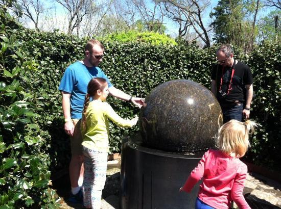 In Children 39 S Maze Picture Of Dallas Arboretum Botanical Gardens Dallas Tripadvisor