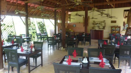 Pavillon d'Orient Boutique-Hotel: Salle du restaurant