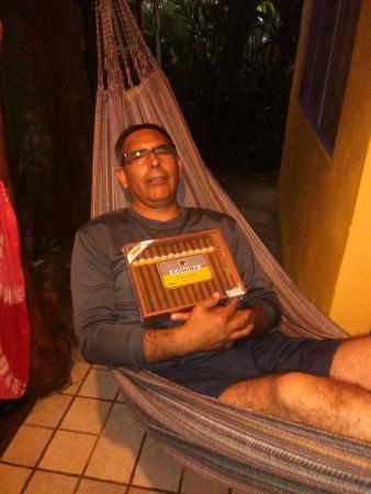 Hotel Guarana: En la Hamaca de la terraza de la habitación número 4