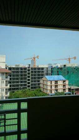 Golden Sea Pattaya Hotel: View from 3714