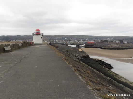 Burry Port, UK: The Lighthouse